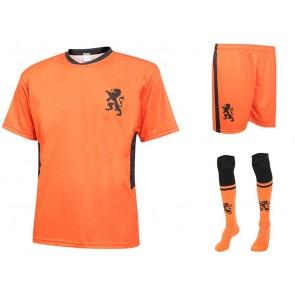 Nederlands elftal Voetbaltenue Thuis Eigen Naam-Oranje Kids-Senior EK 2020-21 NIEUW