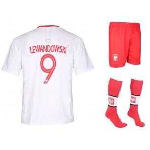 Polen thuis tenue Lewandowski 2018-20