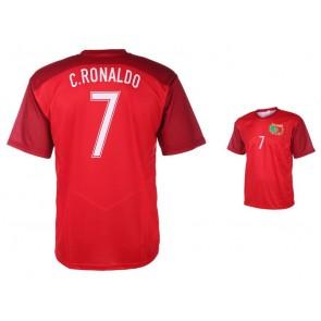 Portugal thuisshirt Ronaldo 2017-18