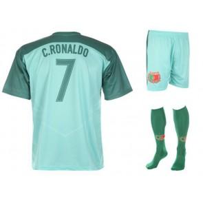 Portugal uit tenue Ronaldo 2016 - 18