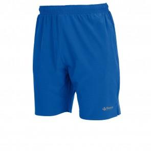 Tennisbroek Blauw en Grijs Reece met club logo